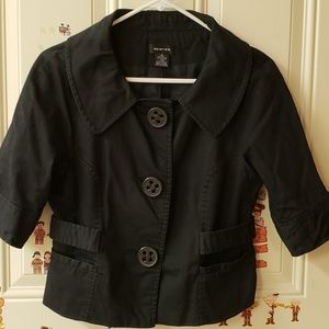 Black Coat / Jacket / Vest